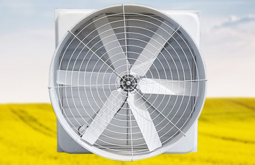 How many types of glass steel negative pressure fans are classified